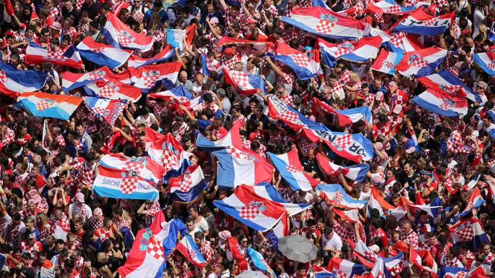 FIFA World Cup 2018: Croatia takes to streets to toast football team's historic run