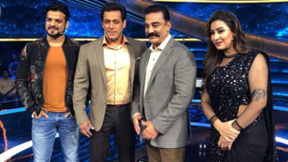 Shilpa Shinde meets 'Bigg Boss' host Salman Khan, Kamal Haasan on 'Dus Ka Dum'