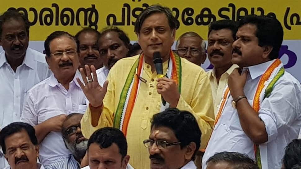 Have they started Taliban in Hinduism: Shashi Tharoor lashes out over protests against him