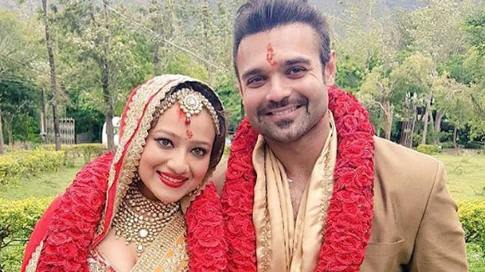 Mithun Chakraborty's son Mahaakshay and Madalsa Sharma's honeymoon pic is filled with love—See inside