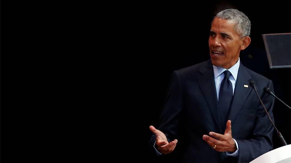 Barack Obama invokes Mahatma Gandhi, Nelson Mandela, says believe in their vision