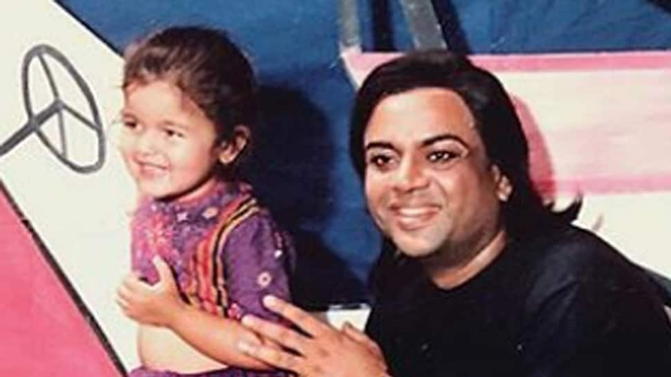 Throwback Thursday: Alia Bhatt is the epitome of cuteness in this childhood pic with Paresh Rawal