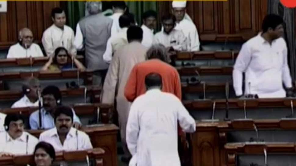 BJD stages walkout from no-confidence motion, abstain from voting
