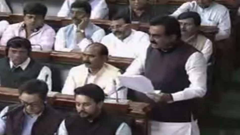 No-confidence motion debate: BJP's Rakesh Singh slams Congress for dynastic politics