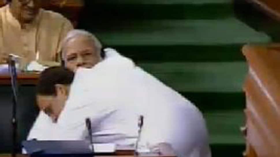 Lok Sabha Speaker displeased at Rahul for hugging PM Modi during no-confidence motion debate