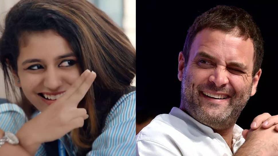 Priya Prakash Varrier welcomes Rahul Gandhi to the 'wink club', calls it a 'sweet gesture'