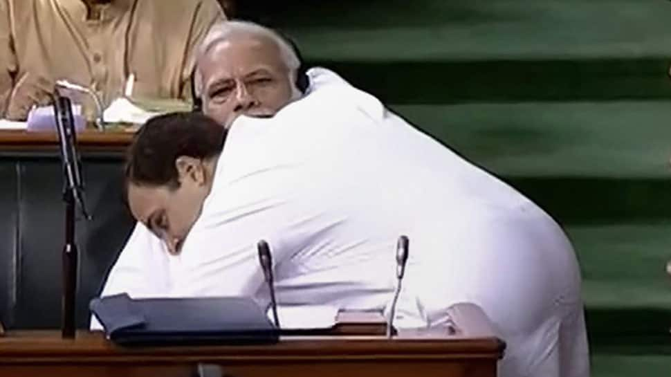 Rahul Gandhi, you stole the show: Shiv Sena on Congress chief hugging PM Modi