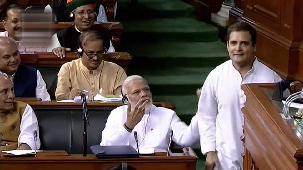 Narendra Modi on Rahul Gandhi's hug: You saw how he came running, all he can see is PM's chair