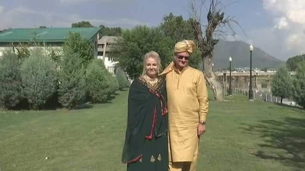 Inspired by Kashmiri culture, Polish couple celebrates marriage in Srinagar