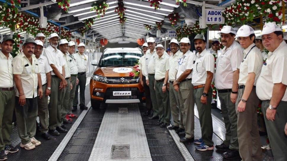 From 800 to Vitara Brezza, Maruti Suzuki touches record 20 million production