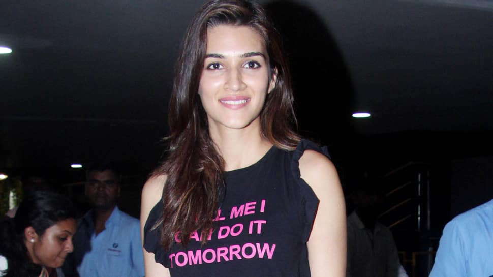 Kriti Sanon's airport look is comfy yet cool—View pics