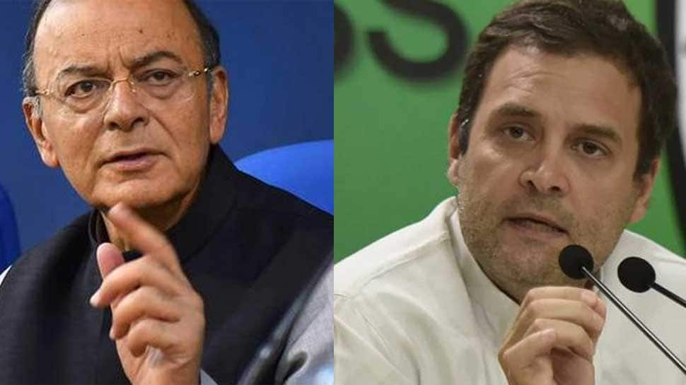 Arun Jaitley hits out at Rahul Gandhi in new Facebook post, says Congress manufacturing fake Rafael controversy