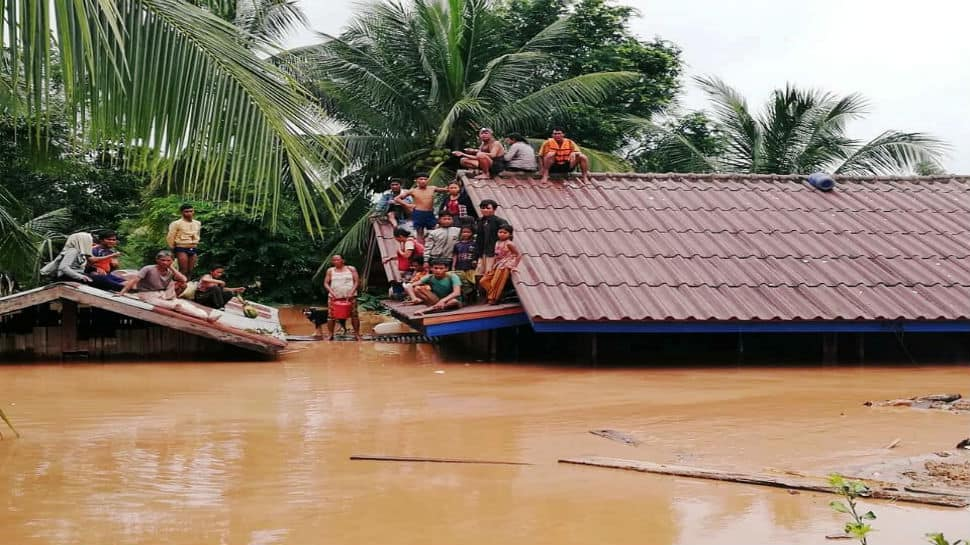 Hundreds missing after Laos dam under construction collapses