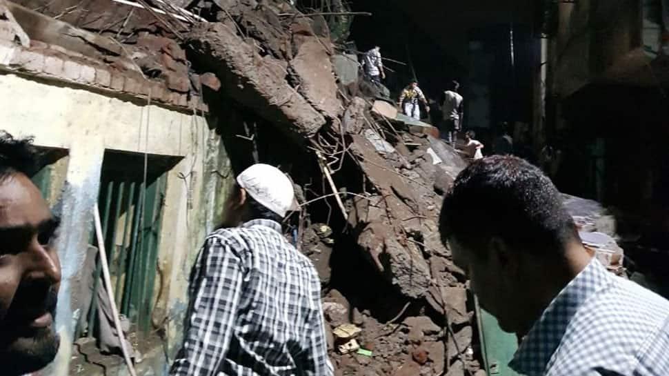 Portion of 3-storey building collapses in Maharashtra's Bhiwandi