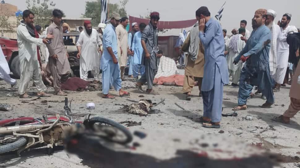 Blast in Quetta in Balochistan as Pakistan votes, several casualties feared