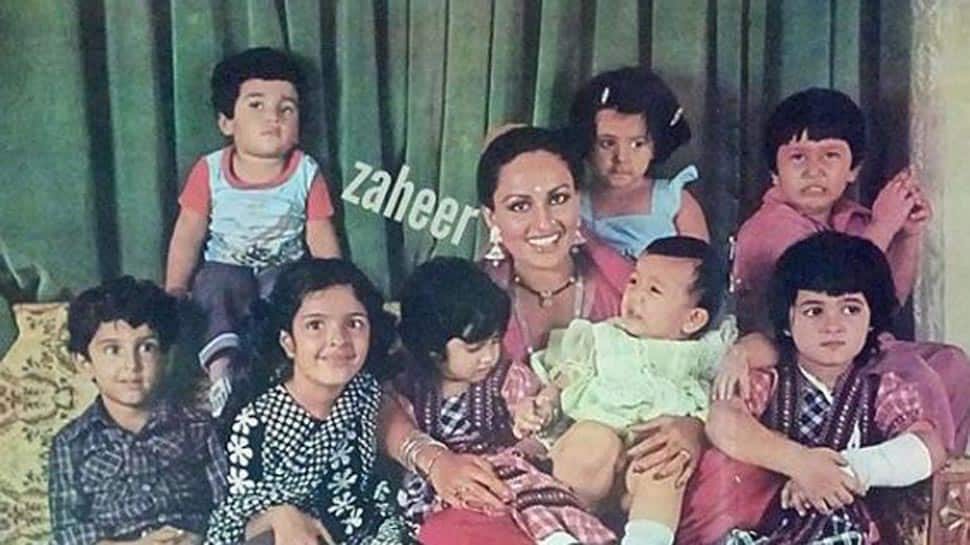 Throwback Thursday: Can you recognise veteran actress Reena Roy and some 'well-fed' Kapoors in this picture?