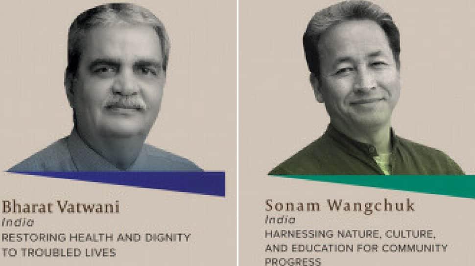 Bharat Vatwani, Sonam Wangchuk to get 2018 Ramon Magsaysay Award