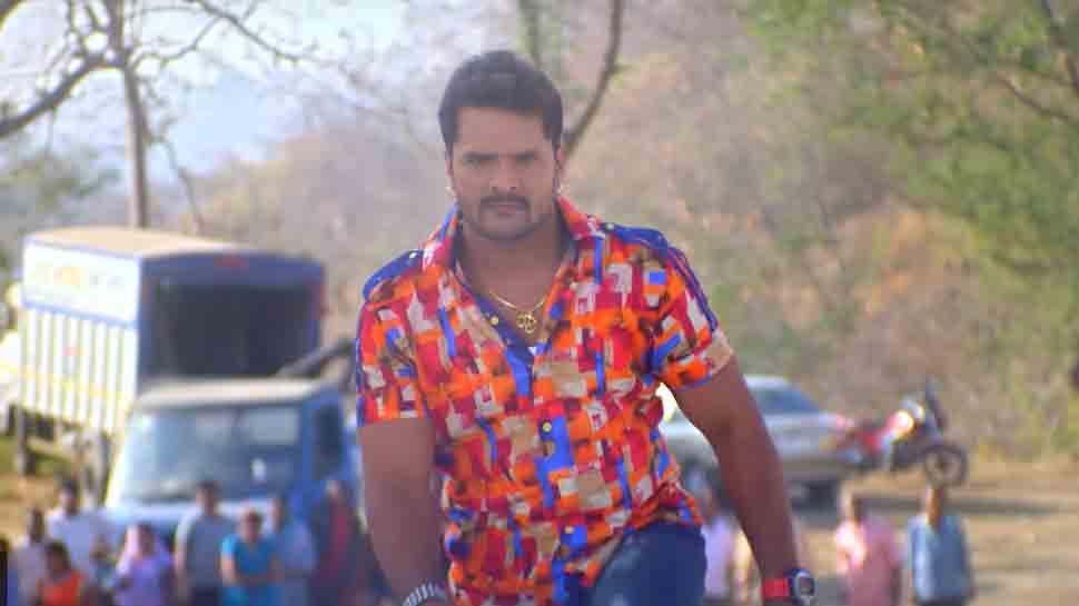 Bhojpuri stars Khesari Lal Yadav-Kajal Raghwani starrer Sangharsh trailer out