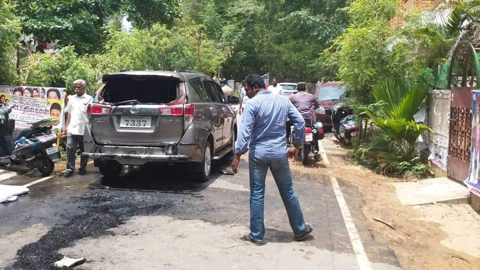Tamil Nadu: Petrol bomb hurled at TTV Dhinakaran's car, driver injured