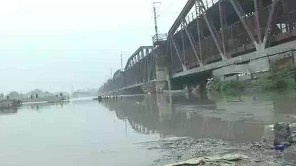 Rail bridge on Yamuna closed as water level breaches danger mark; 27 trains cancelled