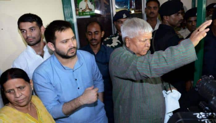 Delhi court summons Lalu, Rabri and Tejashwi over IRCTC scam allegations