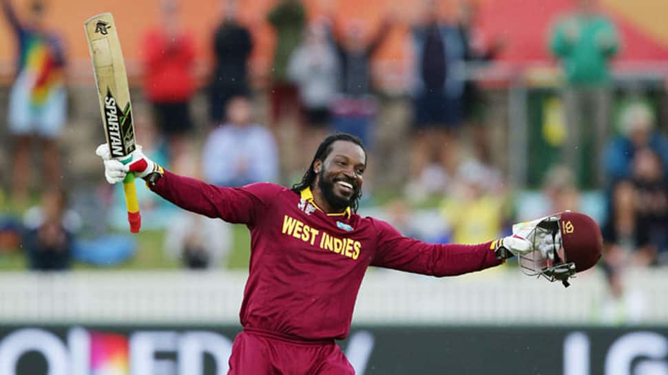 Chris Gayle equals Shahid Afridi's record of most sixes in international cricket