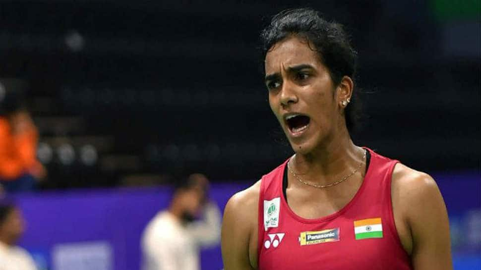 PV Sindhu settles for Silver in BWF World Championships, loses to Spain's Carolina Marin