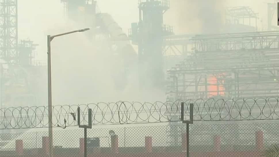 At least 45 injured in fire at Bharat Petroleum refinery in Mumbai's Chembur