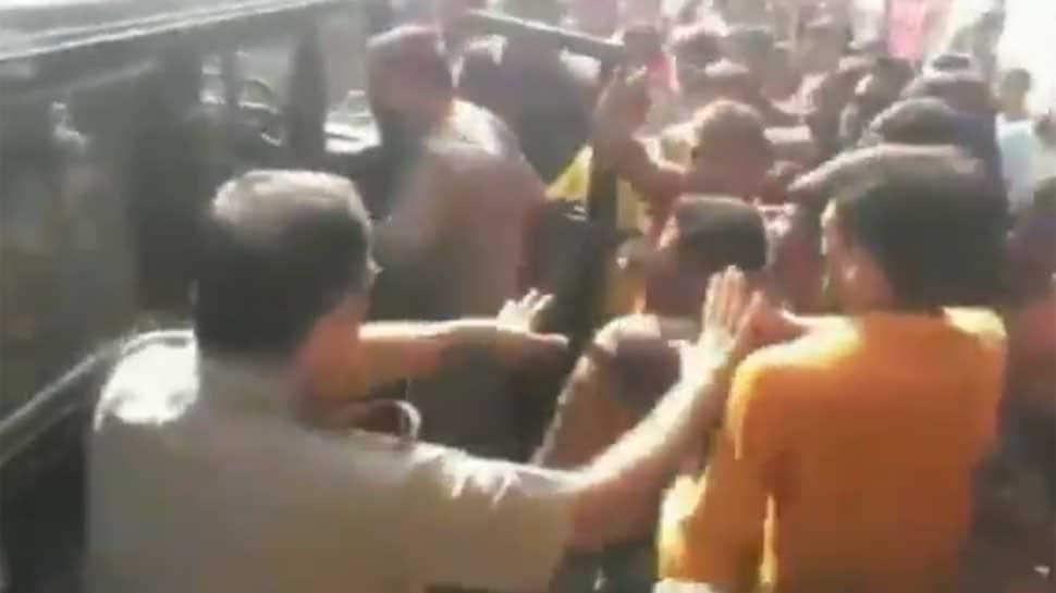 After Delhi, Kanwariyas resort to violence in UP, attack cops, vandalise vehicles