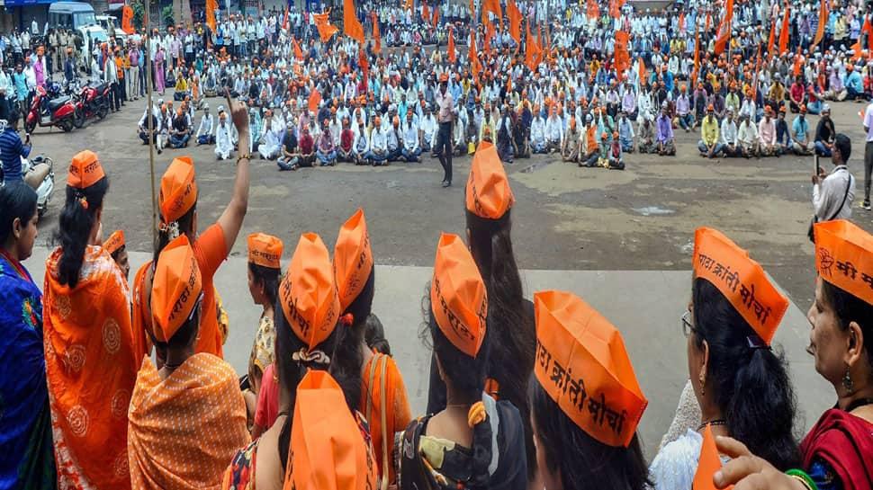 Protesters disrupt road traffic, burn vehicles during Maharashtra bandh over Maratha quota