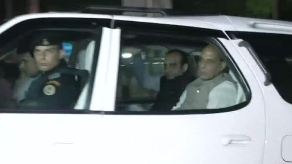 Rajnath Singh, Amit Shah visit AIIMS to enquire about Atal Bihari Vajpayee's health
