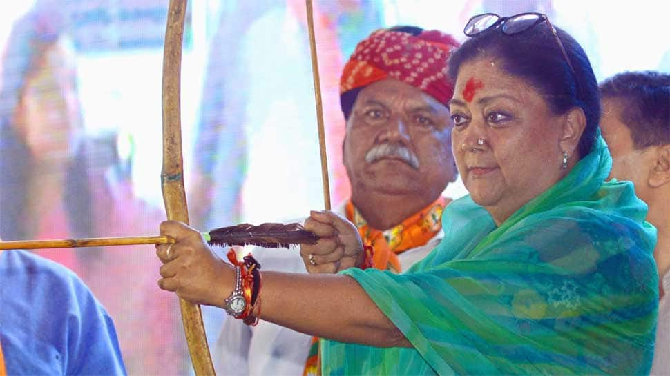 'Vasundhara, go back' slogans raised in Rajasthan CM's home seat by BJP workers