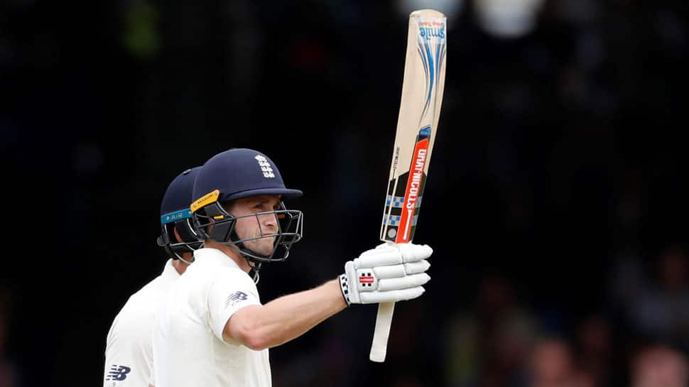 Chris Woakes' maiden test century puts England in control