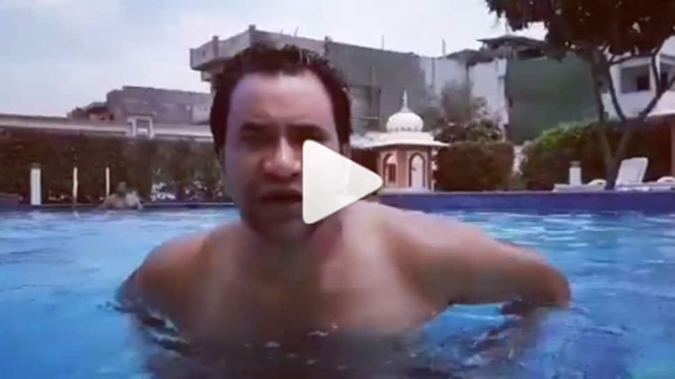 Dinesh Lal Yadav Nirahua posts Fitness challenge video - Watch