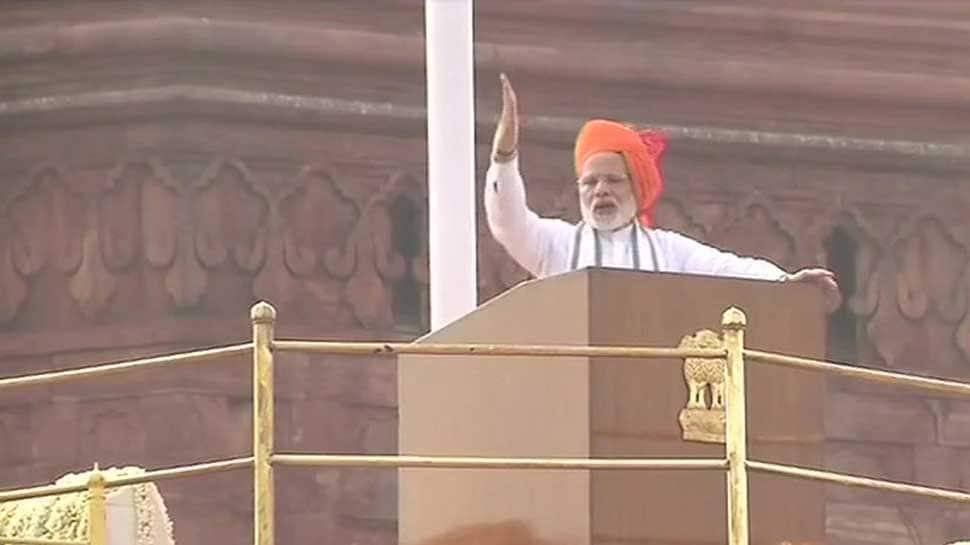 We brought northeast closer to Delhi, says PM Modi during Independence Day speech