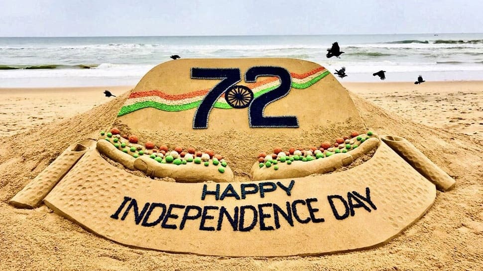Sudarsan Pattnaik's Independence Day special sand art will make your jaw drop - Watch