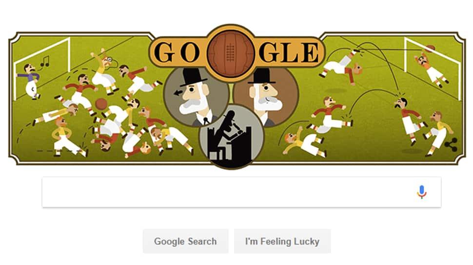 Google Doodle honours Ebenezer Cobb Morley, man behind the rules of football