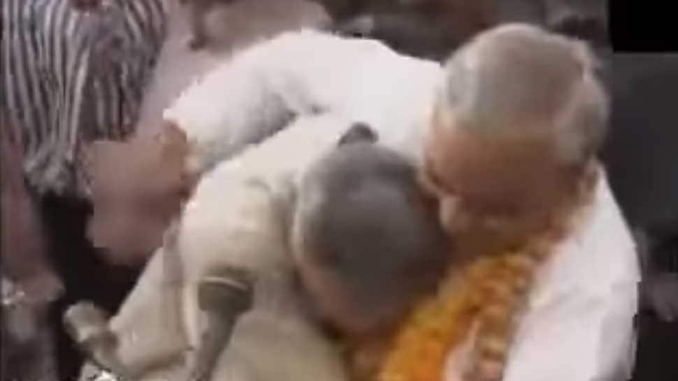 When Narendra Modi ran and hugged Atal Bihari Vajpayee – Watch rare video