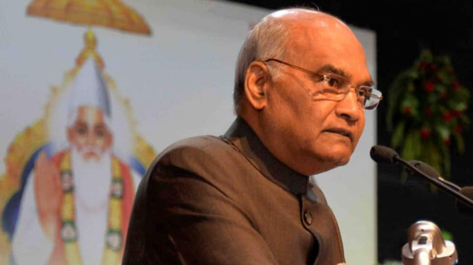 President Ram Nath Kovind greets people on eve of Parsi New Year