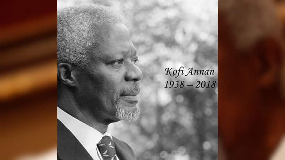 Kofi Annan, former UN chief and Nobel Peace Prize laureate, dies