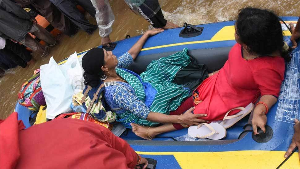 President Ram Nath Kovind takes stock of Kerala flood stituation, praises relief and rescue work