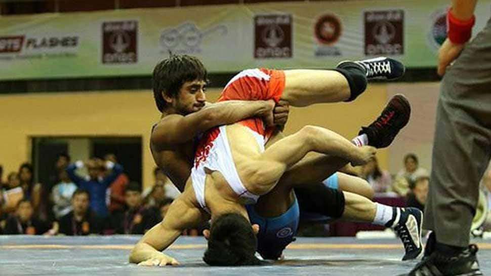 Bajrang Punia wins gold for India, beats Japan's Daichi Takatani 11-8 in men's freestyle wrestling 65 kg