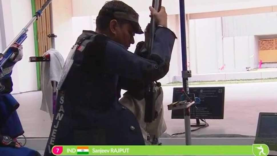 Asian Games 2018: Indian shooter Sanjeev Rajput wins Silver in 50m Rifle event