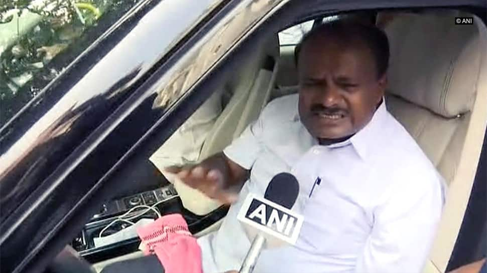 CM Kumaraswamy backs brother Revanna over controversy of 'throwing' food packets to flood victims