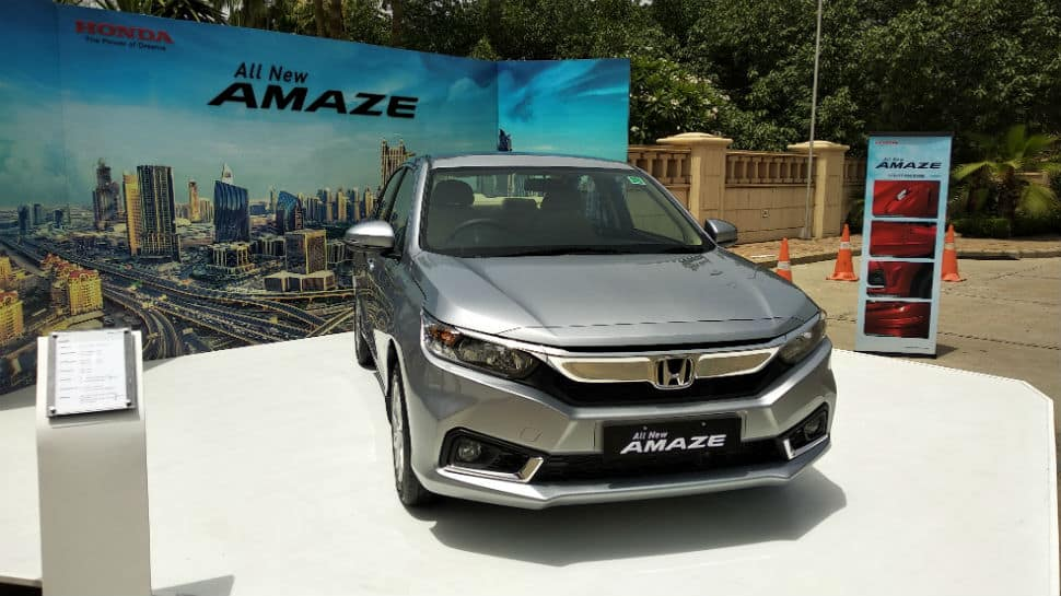 Honda's new Amaze records 30K unit sales in 3 months