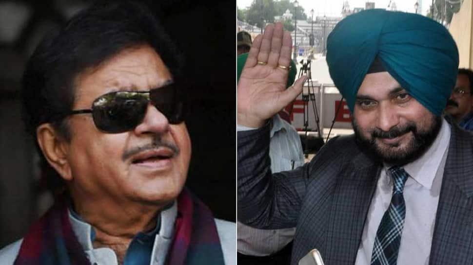 Shatrughan Sinha comes to Sidhu's support, says Vajpayee, Modi also hugged Pakistani PMs