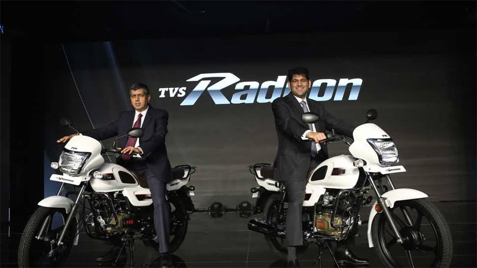 TVS Radeon 110cc motorcycle launched in India