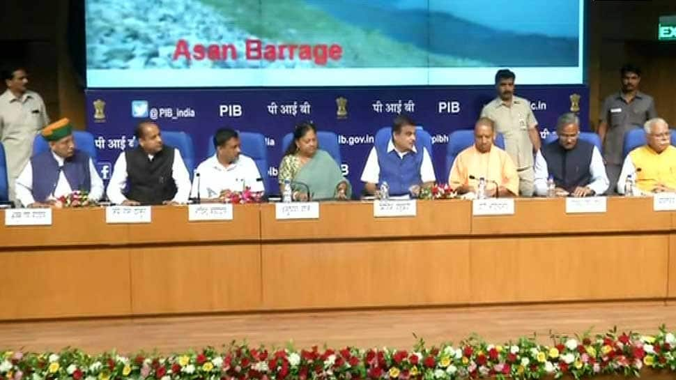 Centre, 6 states sign MoU for Lakhwar Yamuna Basin project in Uttarakhand