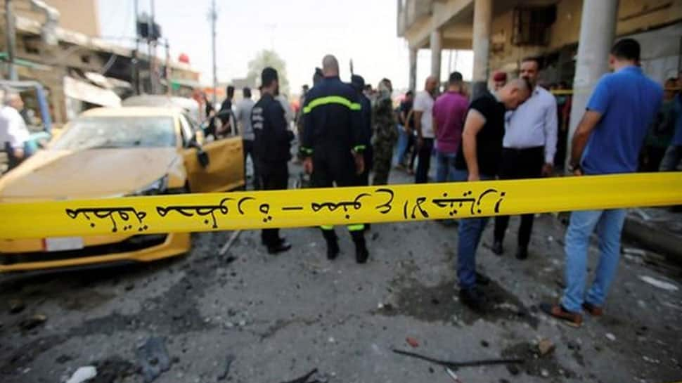 At least 11 killed in suicide car bombing in western Iraq
