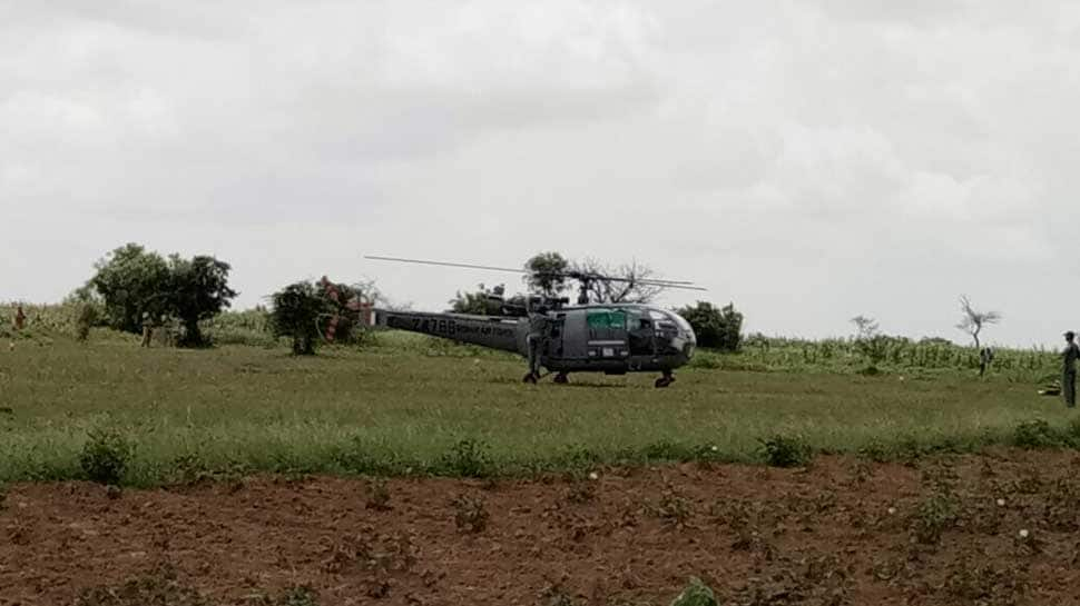IAF's Chetak helicopter makes emergency landing in Telangana after technical snag